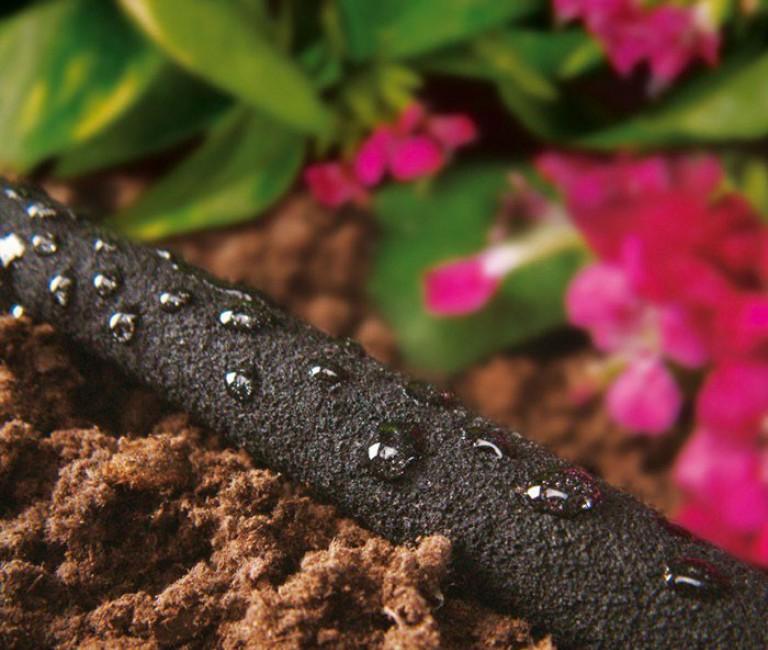 Waterbesparende besproeiing van planten